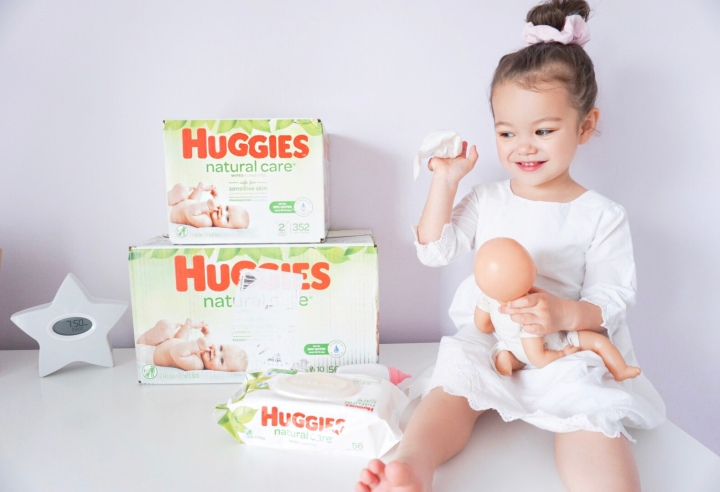 Must Have Baby/Toddler Product: Huggies Natural Care Wipes