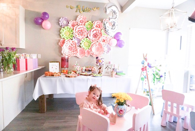 Aleia's 3rd Birthday: Fairy Party