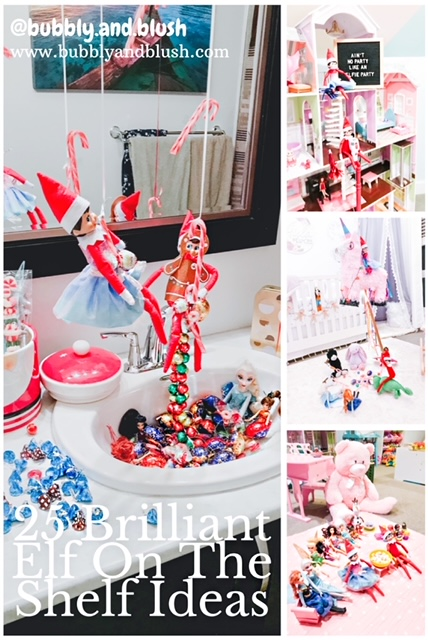 25 Days Brilliant Elf On The Shelf Ideas