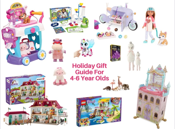 Holiday Gift Guide For 4-6 Year Olds